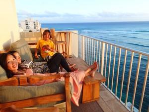 心が踊りまくる場所、ハワイ。これからも家族と、そして気の合う仲間たちと楽しんでいきたい!