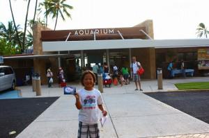 ワイキキアクエリアムにはキッズプログラムがたくさん!水族館で過ごすサンセットも最高!